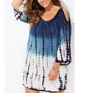 Swimsuits For All Miranda cold Shoulder Coverup